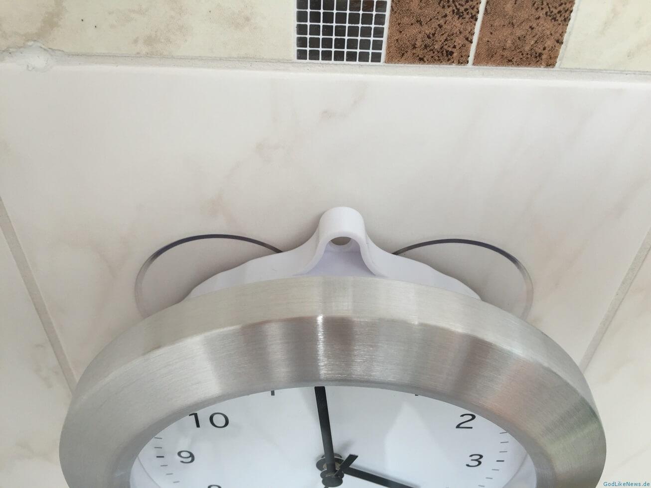 badezimmeruhr mit saugnapf & thermometer - review | godlikenews.de, Hause ideen